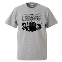 【THE FALCONS /ザ・ファルコンズ】5.6オンス Tシャツ/GY/ST- 630