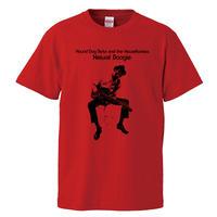 【 Hound Dog Taylor and The HouseRockers/ハウンドドッグテイラー】 5.6オンス Tシャツ/RD/ST- 379
