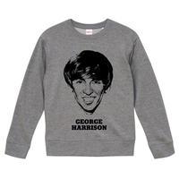 【George Harrison/ジョージ・ハリスン】9.3オンス スウェット/ORG/SW-156