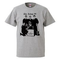 【The Arkay IV/アーケイ・フォース】5.6オンス Tシャツ/GY/ST- 349