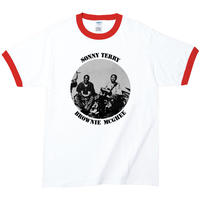【SONNY TERRY & BROWNIE MCGHEE/サニー・テリー&ブラウニー・マギー】5.3オンス Tシャツ/WHRD/RT- 666