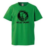 【STAY PUNK /ステイパンク】 5.6オンス Tシャツ/GR/ST- 625