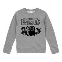 【THE FALCONS /ザ・ファルコンズ】9.3オンス スウェット/GY/SW-630