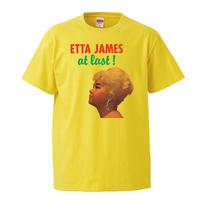 【Etta james-エタ・ジェイムス/at last!】5.6オンス Tシャツ/YL/ST-557