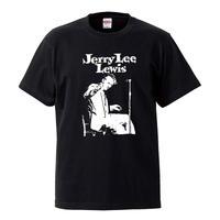 【Jerry Lee Lewis/ジェリー・リー・ルイス】5.6オンス Tシャツ/BK/ST- 223