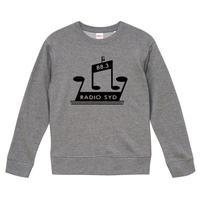 【RADIO SYD/ブライアン・ジョーンズ】9.3オンス スウェット/GY/SW- 007