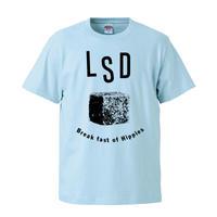 【Break fast LSD/LSDはヒッピーの朝食】 5.6オンス Tシャツ/LB/ST-576
