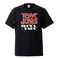 【Tom Jones-She`s A Lady / トムジョーンズ-シーズアレディー】5.6オンス Tシャツ/BK/ST-085