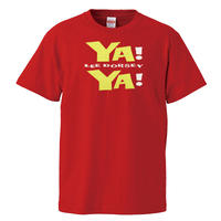 【LEE DORSEY-YA!YA!/リー・ドーシー-ヤ!ヤ!】5.6オンス Tシャツ/RD/ST-110