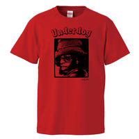 【スライ・ストーン/underdog】5.6オンス Tシャツ/RD/ST-554
