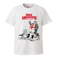 【Mick Abrahams Band/ミック・アブラハムス・バンド】5.6オンス Tシャツ/WH/ST- 309