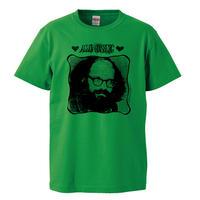 【Allen Ginsberg-アレン・ギンズバーグ】5.6オンス Tシャツ/GR/ST-555