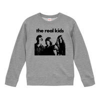 【The real Kids /リアルキッズ】9.3オンス スウェット/GY/SW-624