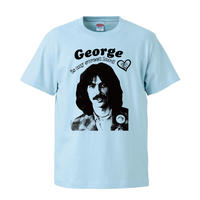 【George Harrison is my sweet lord/ジョージ・ハリスン】5.6オンス Tシャツ/LB/ST- 416