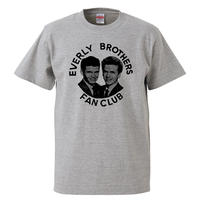 【Everly Brothers/エヴァリー・ブラザーズ】5.6オンス Tシャツ/GY/ST- 599