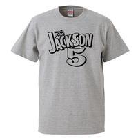 【ジャクソン5/JACKSON 5】5.6オンス Tシャツ/GY/ST- 662