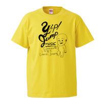 【daniel johnston-ダニエル・ジョンストン/Yip jump music】5.6オンス Tシャツ/YL/ST-448