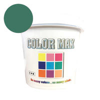 COLORMAX 綿用プラスチゾルインク  CM-077 KELLY GREEN QT(約1.2kg)