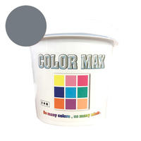 COLORMAX 綿用プラスチゾルインク  CM-093 ダークグレー QT(約1.2kg)