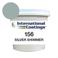 INTERNATIONAL COATINGS 156 シルバーシマー QT(クォート約1.25kg)