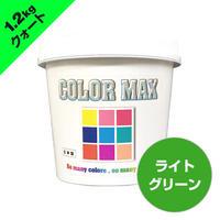COLORMAX 綿用プラスチゾルインク  CM-072 ライトグリーン QT(約1.2kg)
