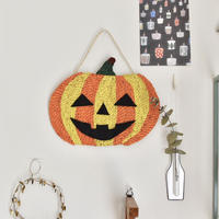 かぼちゃのミニマット&壁掛け 2Way