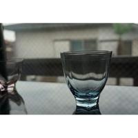 【鎌倉店のみ】五角底グラス ブルー 小宮崇 komiya takashi