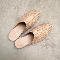 Mesh Leather Sandals : Natural / BALI