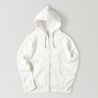 【再販】Simple sweatshirt zip hoodie