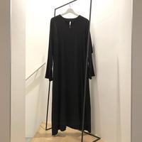 Roundneck Long Kaftan Dress / Cotton&Linen
