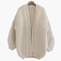 Handcraft OVERSIZED cardigan Knit / USA