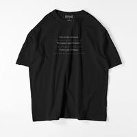 【再販】ACCSEPT CHANGE  T-shirt  / Black