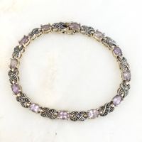 Amethyst Bracelet  / VINTAGE No,57