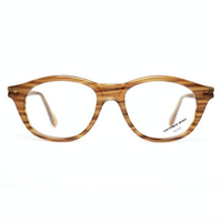 VINTAGE Eyeglasses frame / honey brown