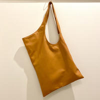 Assymetrical Tote Bag  : Tan / BALI