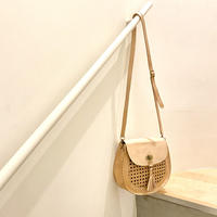 Rattan Saddle Bag  : Natural / BALI