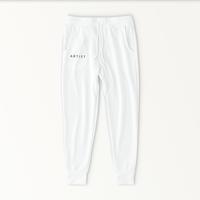 A R T I S T sweat pants / WHITE