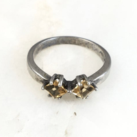 Citrine Ring / VINTAGE No,249