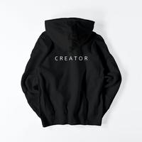 C R E A T O R sweat hoodie / BLACK