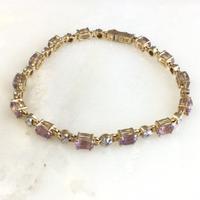 Amethyst Bracelet  / VINTAGE No,58