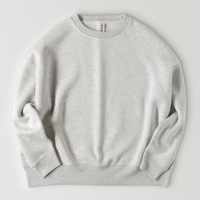 Simple BIG sweat shirt