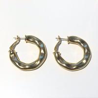 TEXTURE Hoop / GOLD