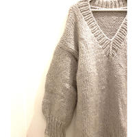 Handcraft Knit OVERSIZED mohair dress  / USA