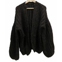 Handcraft Knit OVERSIZED mohair cardigan  / USA
