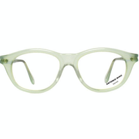 VINTAGE Eyeglasses frame / mint green