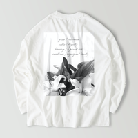 Graphic Art t-shirt / Sensual like a flower