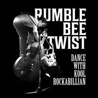 TEE - 063:RUMBLE BEE TWIST (BLACK)