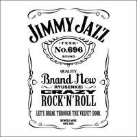 TEE - 013:JIMMY JAZZ (WHITE)