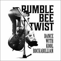 TEE - 062:RUMBLE BEE TWIST (WHITE)