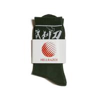 Hellrazor 地獄剃刀 Sox - Dark Green